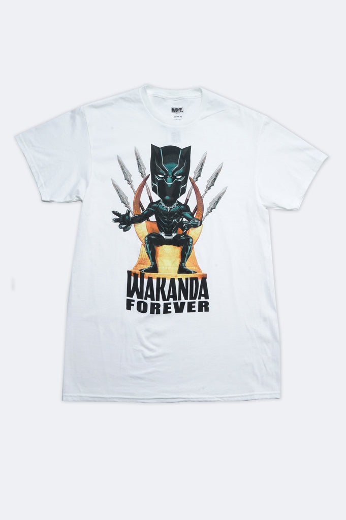 Aao Fashion Men Marvel Wakanda Forever Graphic Tee