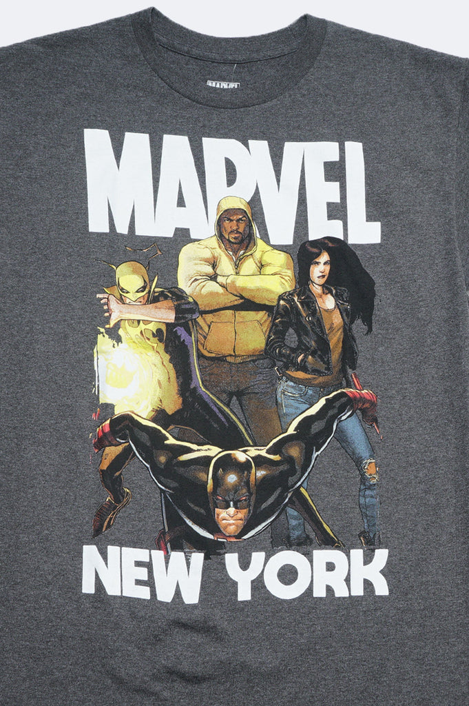 Aao Fashion Men Marvel New York Mvl Graphic Tee