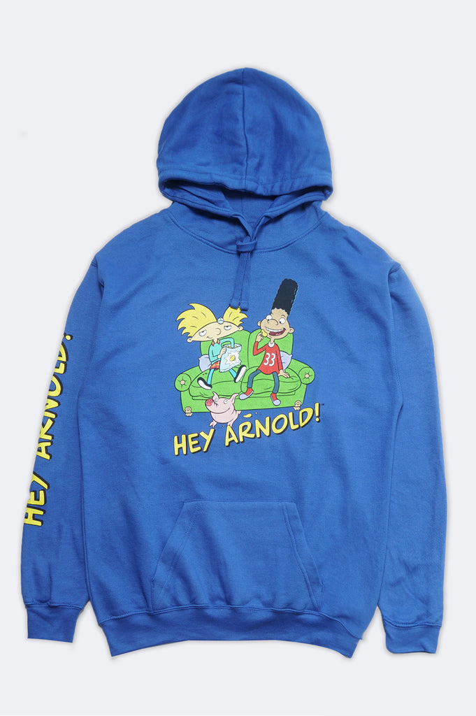 Aao Fashion Men Nickelodeon Hey Arnold Pullover Hoodie