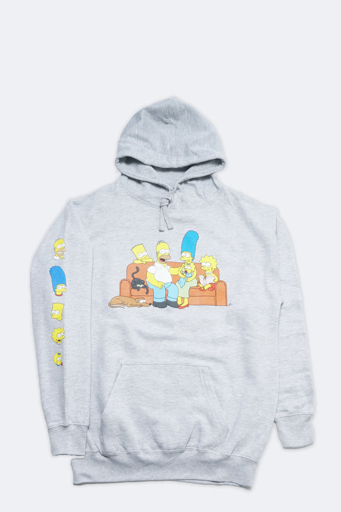 Aao Fashion Men Simpsons Family Pullover Hoodie