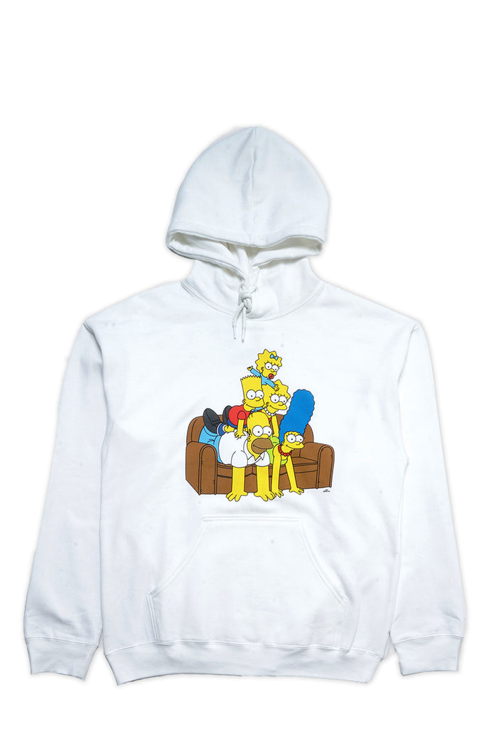 Aao Fashion Men Simpsons Family Pyramid Pullover Hoodie