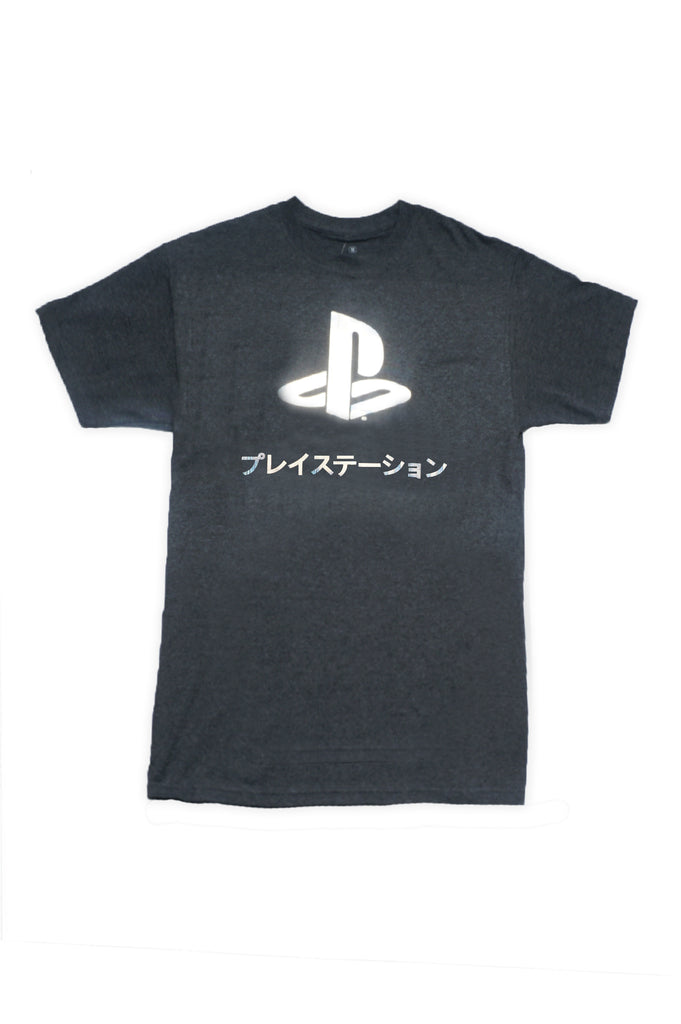 Aao Fashion Men Pop Playstation With Reflective Logo Graphic Tee