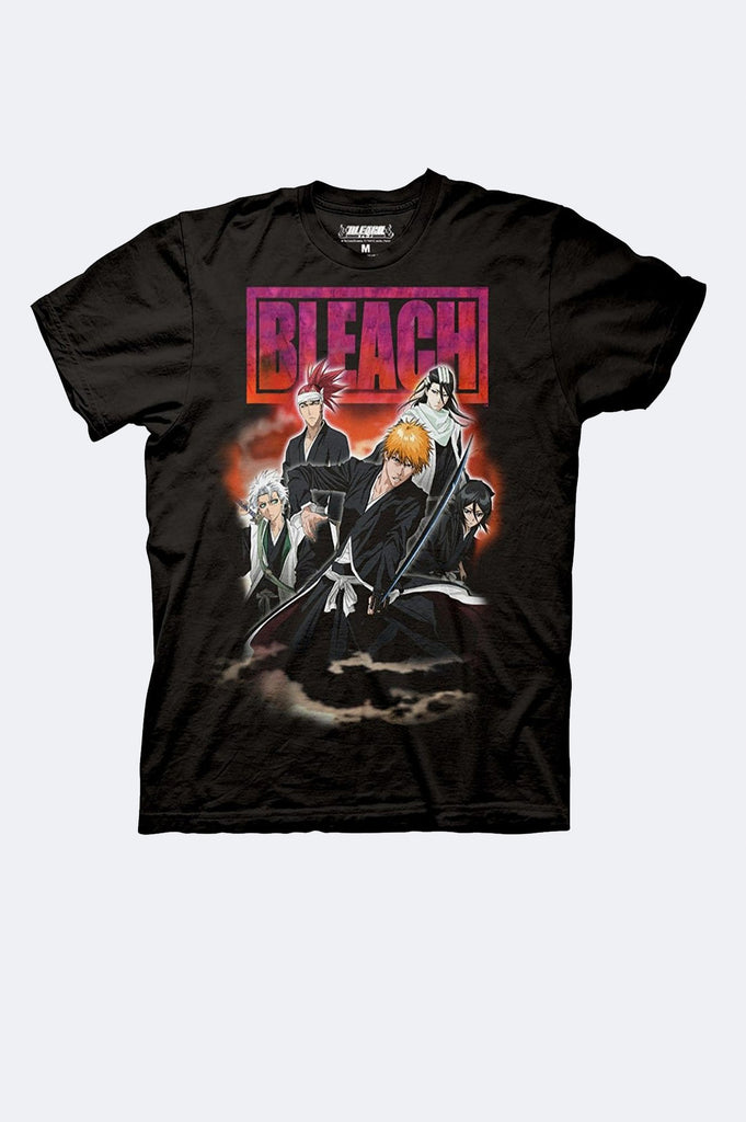 Aao Fashion Men Bleach Group Graphic Tee