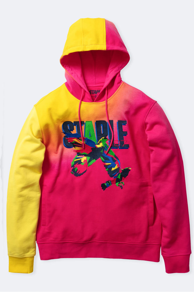 Aao Fashion Men Prism Pigeon Pullover Hoodie