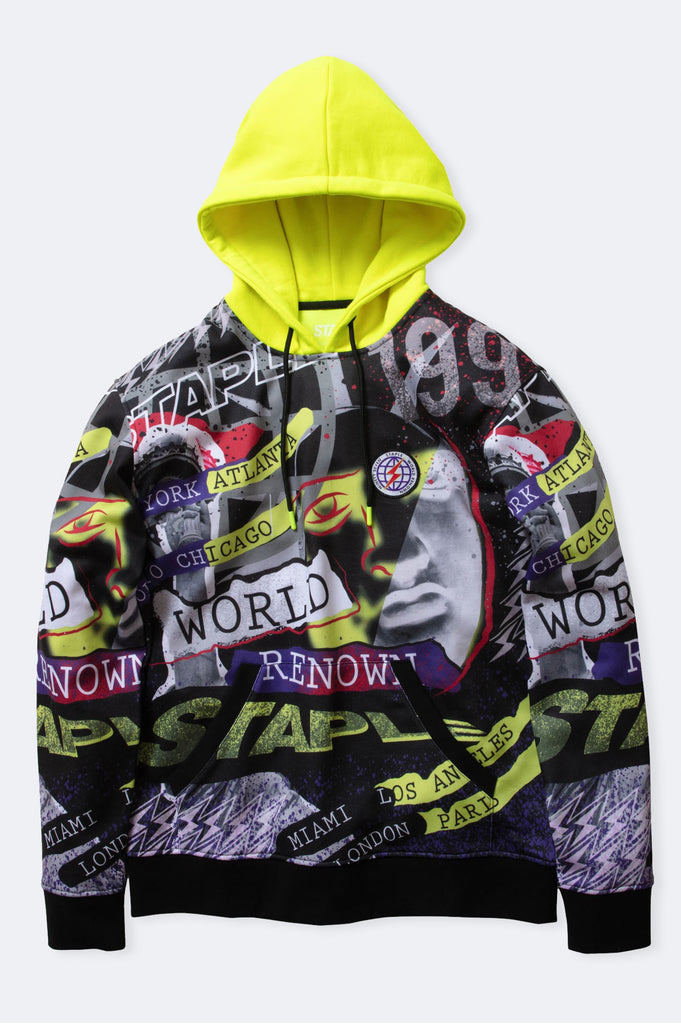 Staple Men Hysteria All Over Print Pullover Hoodie