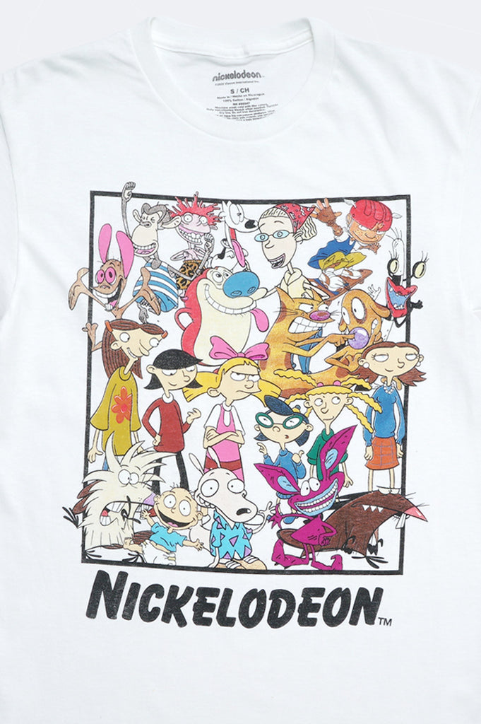 Aao Fashion Men Nickelodeon Group Graphic Tee