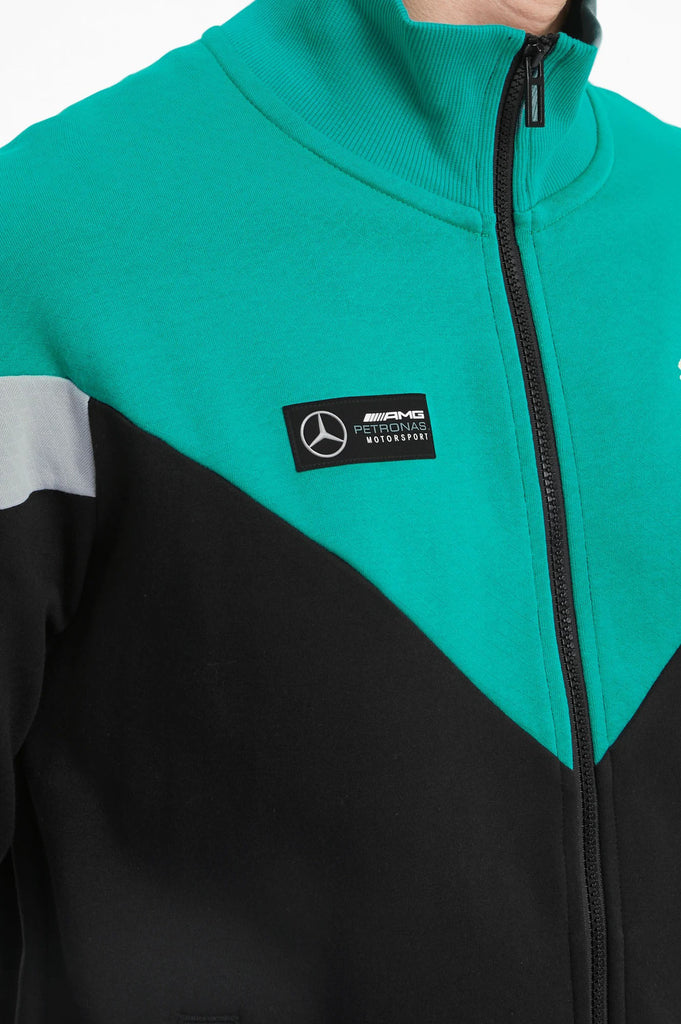Puma Men Mercedes-Amg Petronas Mcs Men's Sweat Jacket