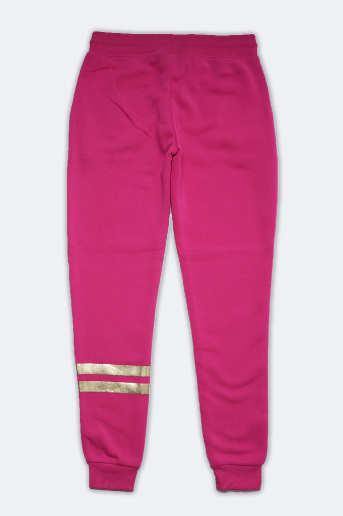 Southpole Women Nasa Fleece Pants W/Gold Print