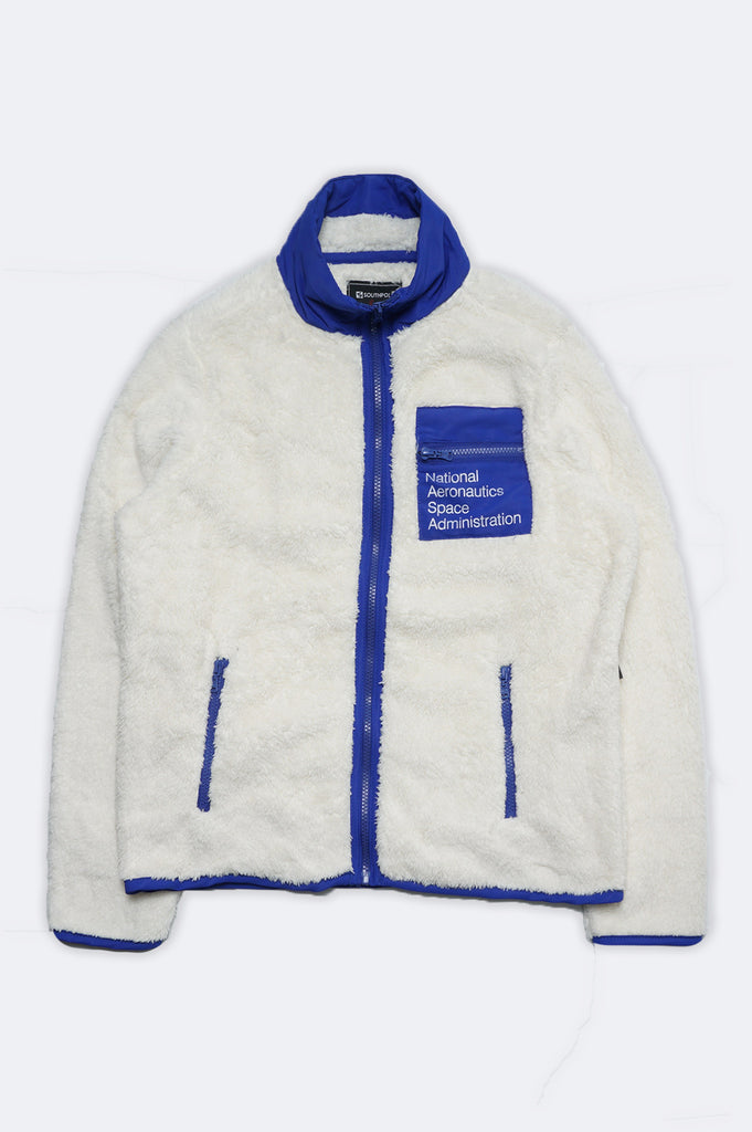 Southpole Women Nasa Logo Sherpa Jacket