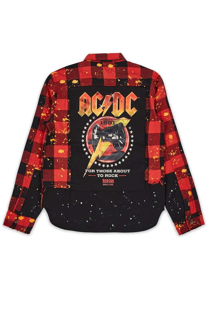 Reason Men Acdc For Those Flannel Shirt