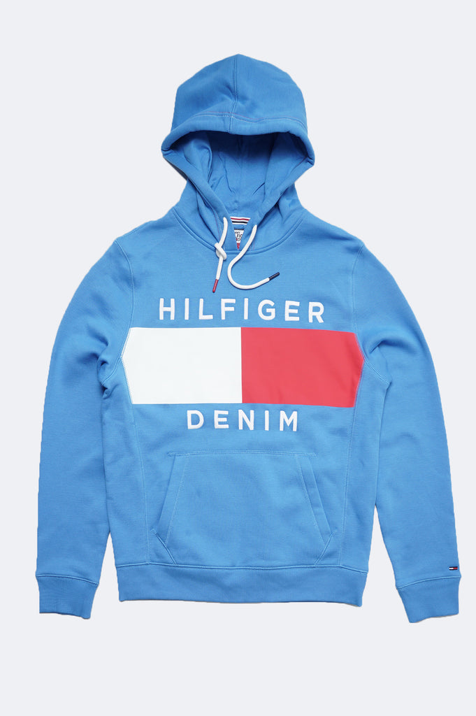 Tommy Jeans Men Essential Flag Pullover Hoodie