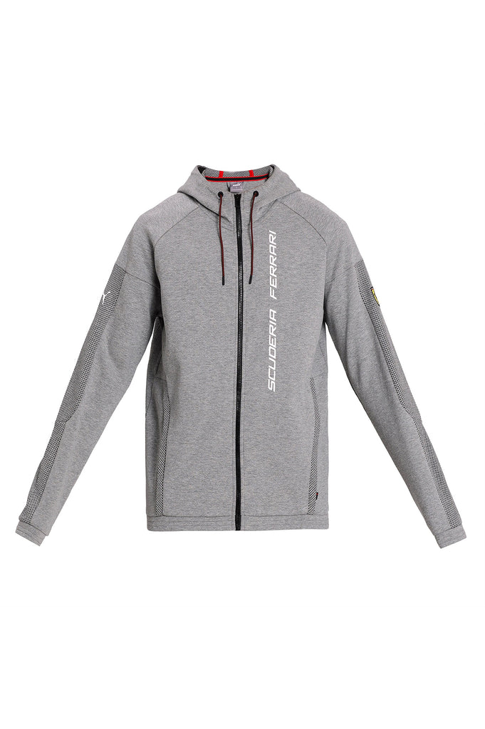 Puma Men Scuderia Ferrari Race Hooded Sweat Jacket