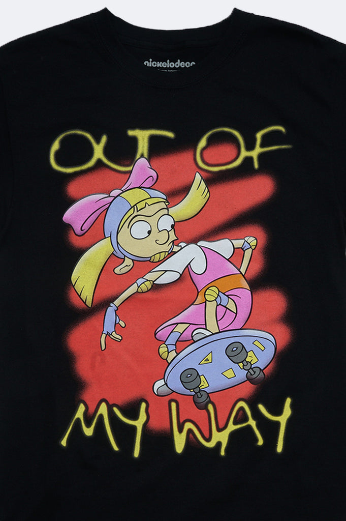 Aao Fashion Men Hey Arnold Out Of My Way Pullover Graphic Tee