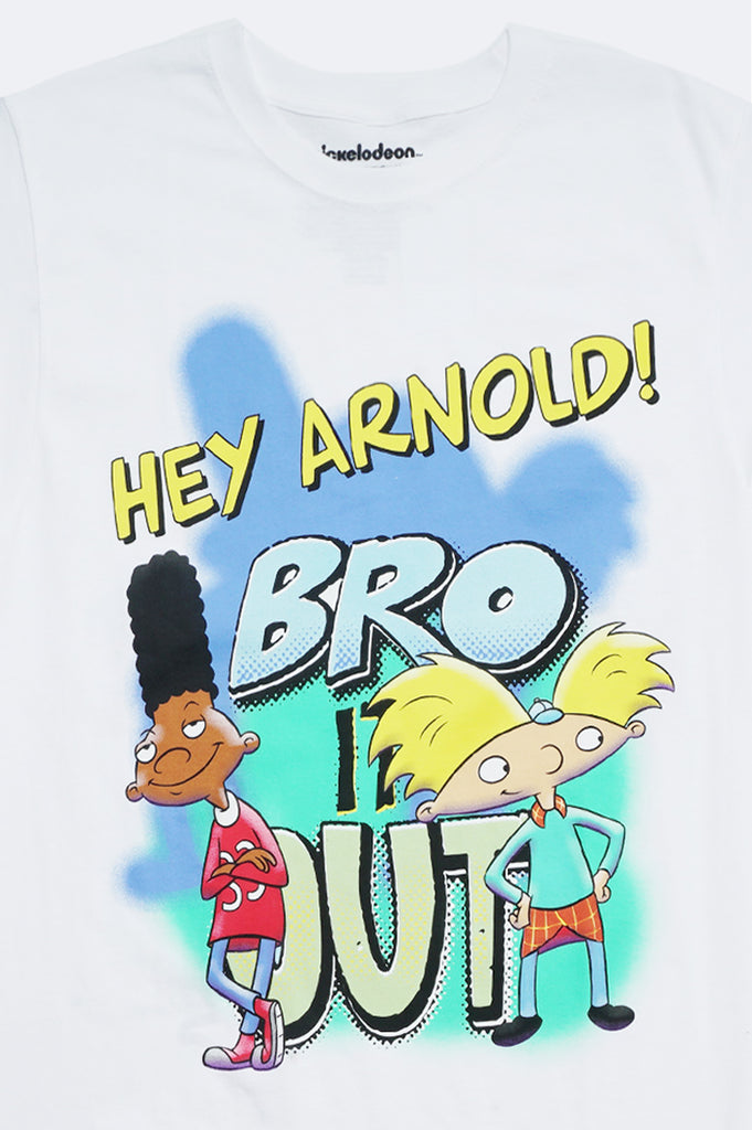 Aao Fashion Men Hey Arnold Bro Out Graphic Tee