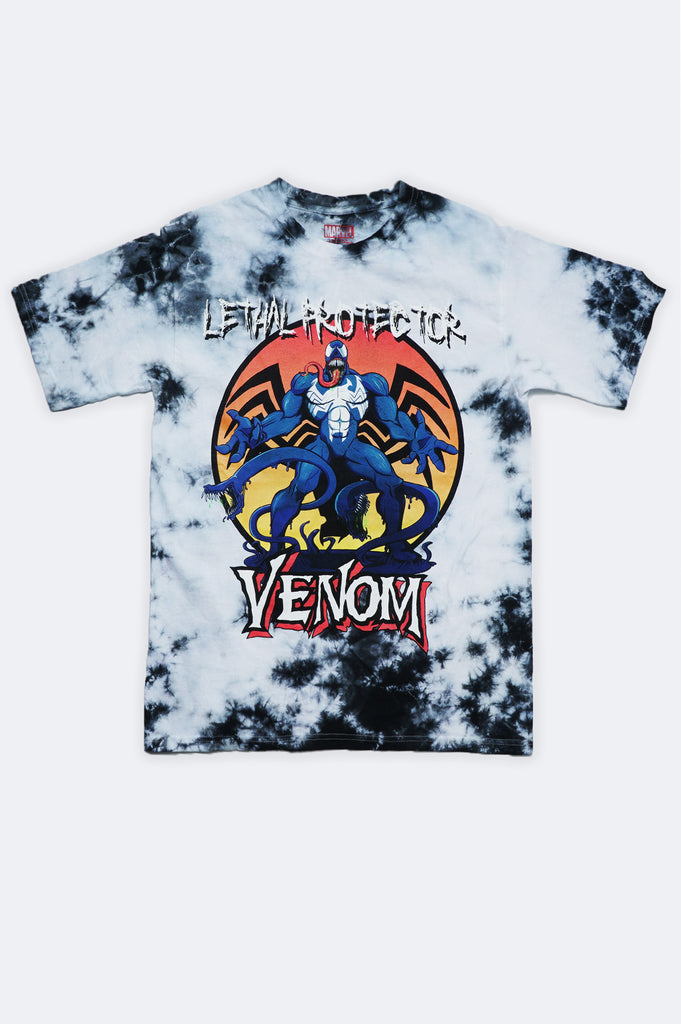 Aao Fashion Men Marvel Venom Tie Dye Graphic Tee