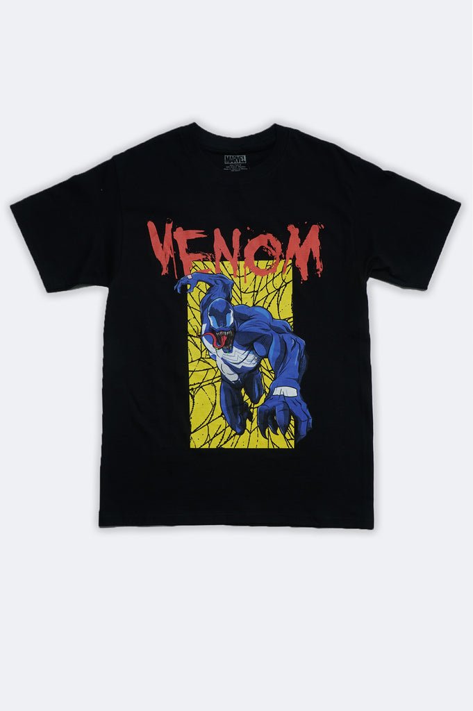 Aao Fashion Men Marvel Venom Graphic Tee