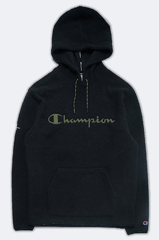 Champion Men Heritage Sherpa Pullover Hoodie