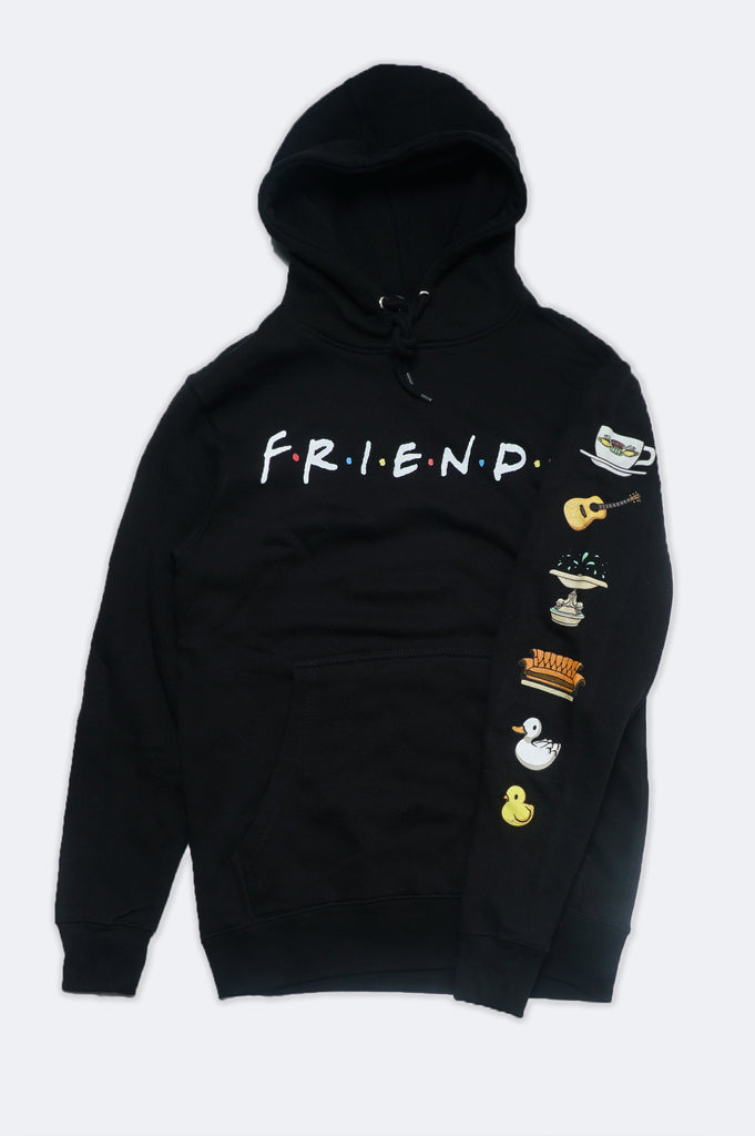 Aao Fashion Men Friends Pullover Graphic Hoodie