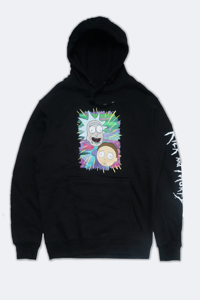 Aao Fashion Men Rick And Morty Pullover Graphic Hoodie