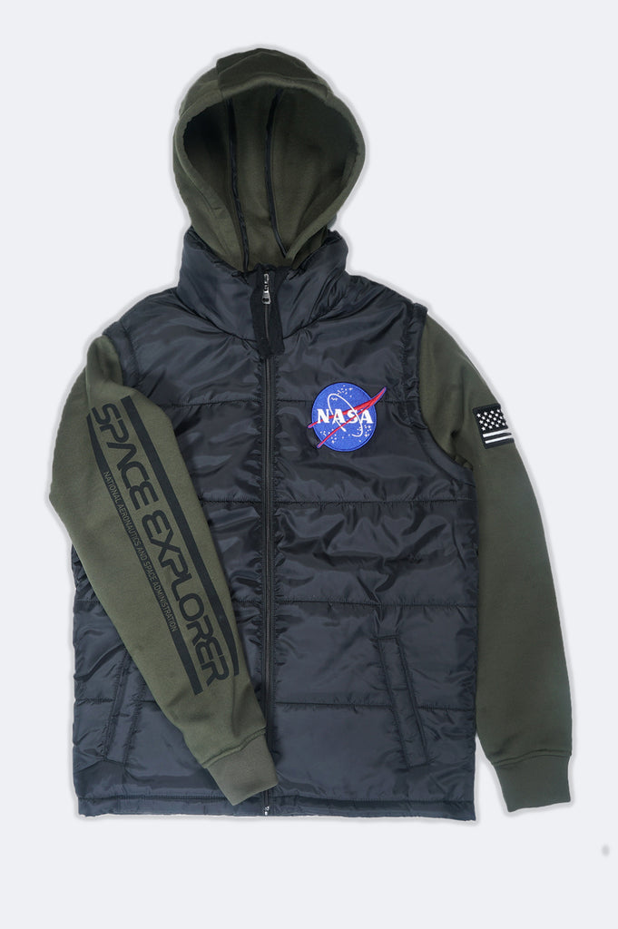 Aao Fashion Men Nasa Twofer Jacket