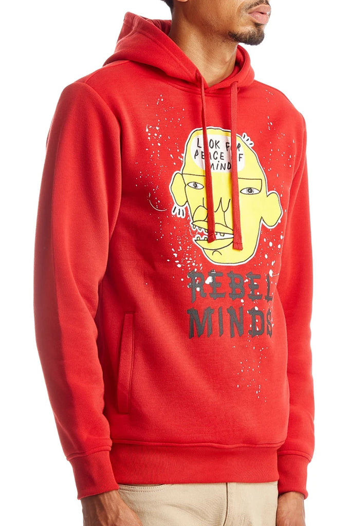 Aao Fashion Men Fashion Fleece Hooddie