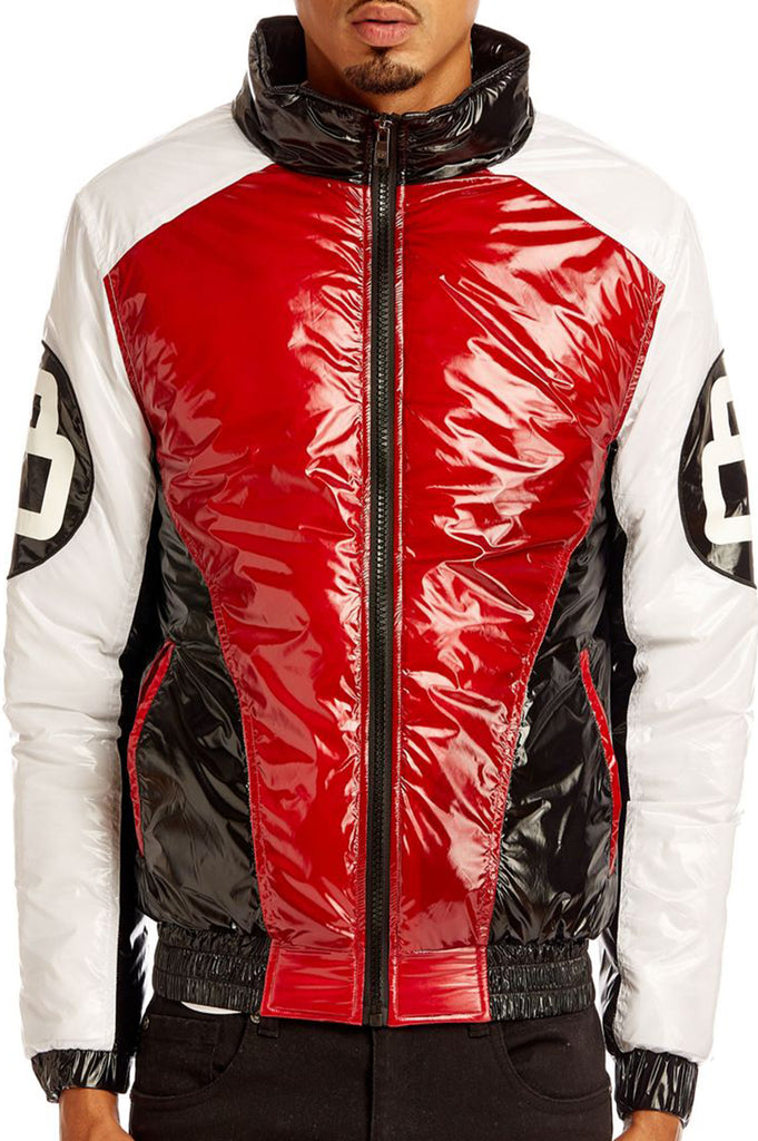Aao Fashion Men 8 Ball Shinny Padding Outer