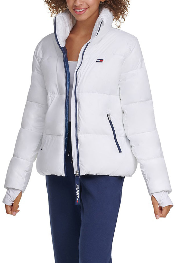 Tommy Hilfiger Activewear Women Cropped Puffer Jacket