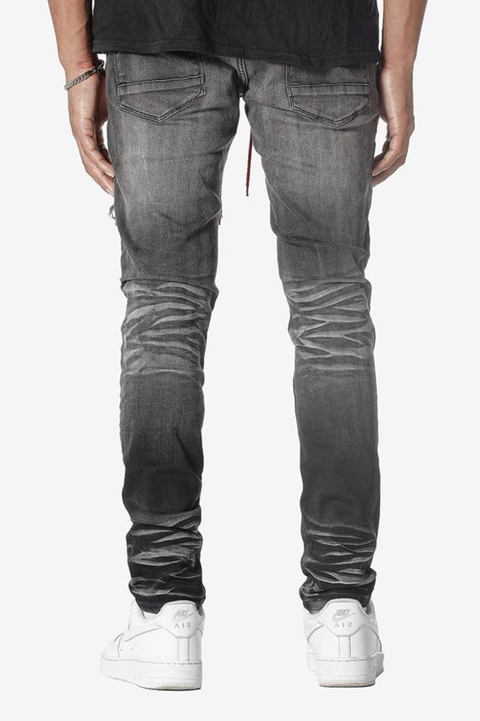 Aao Fashion Men Fashion Ripped Embroidery Denim