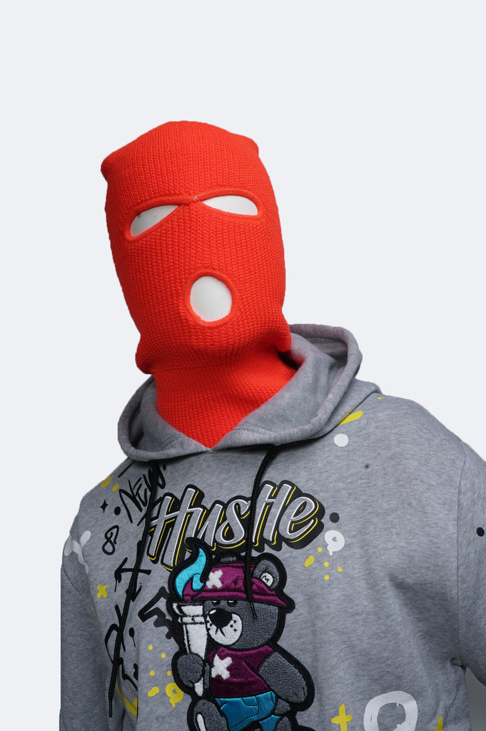 Aao Fashion Acc Three Hole Full Face Cover Ski Mask
