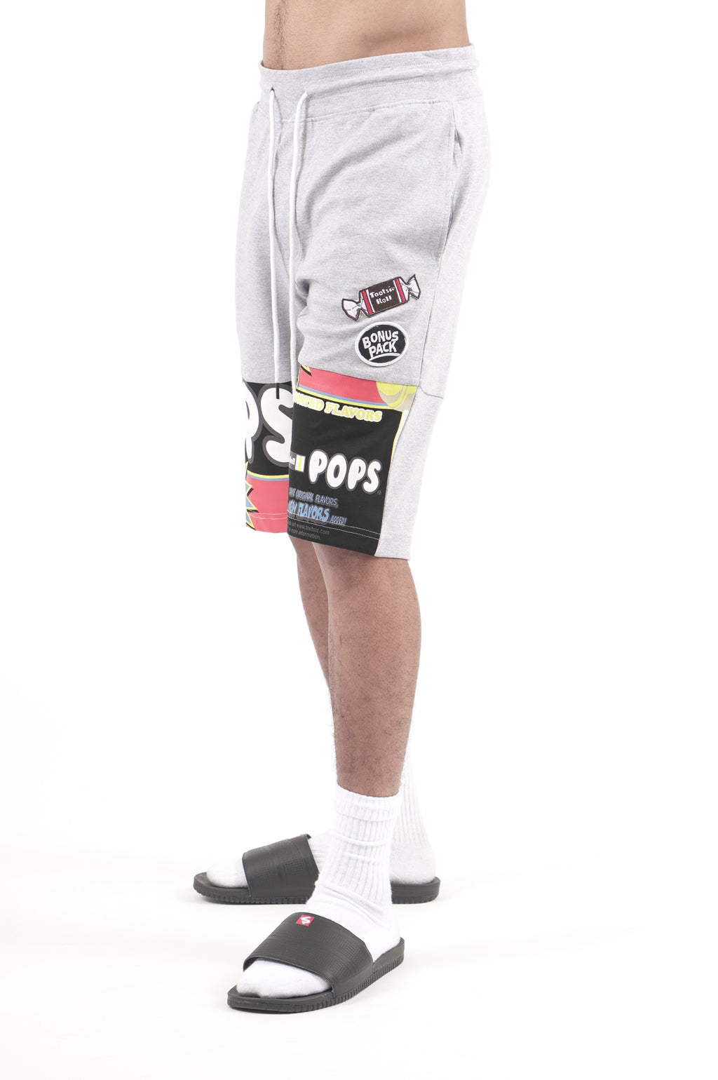 Southpole X Tootsie Men Patch Fleece Shorts