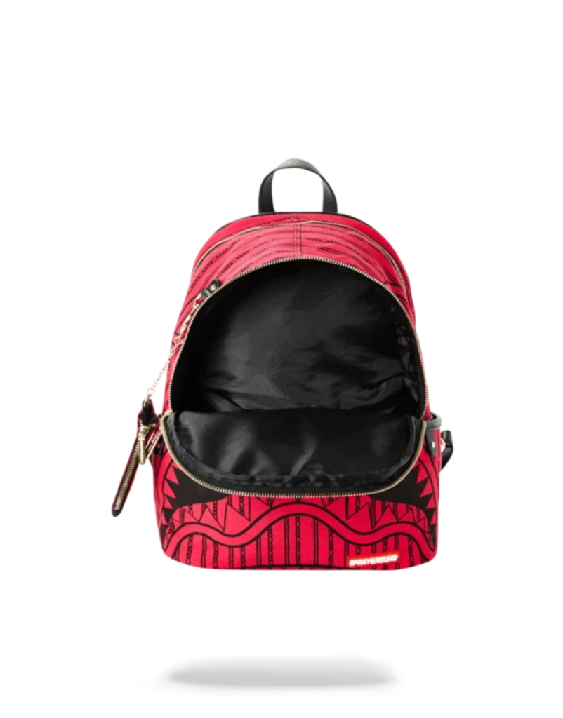 Sprayground Acc Pink Reverse Sharks In Paris Savage Backpack