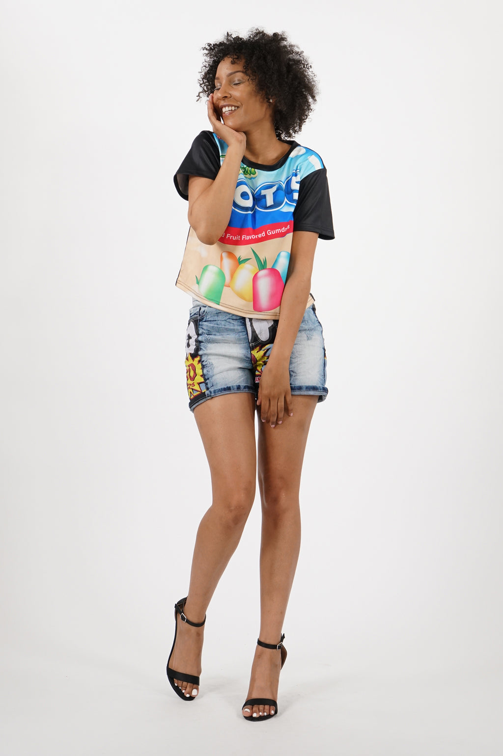 Southpole X Tootsie Women Sublimation Crfop Top