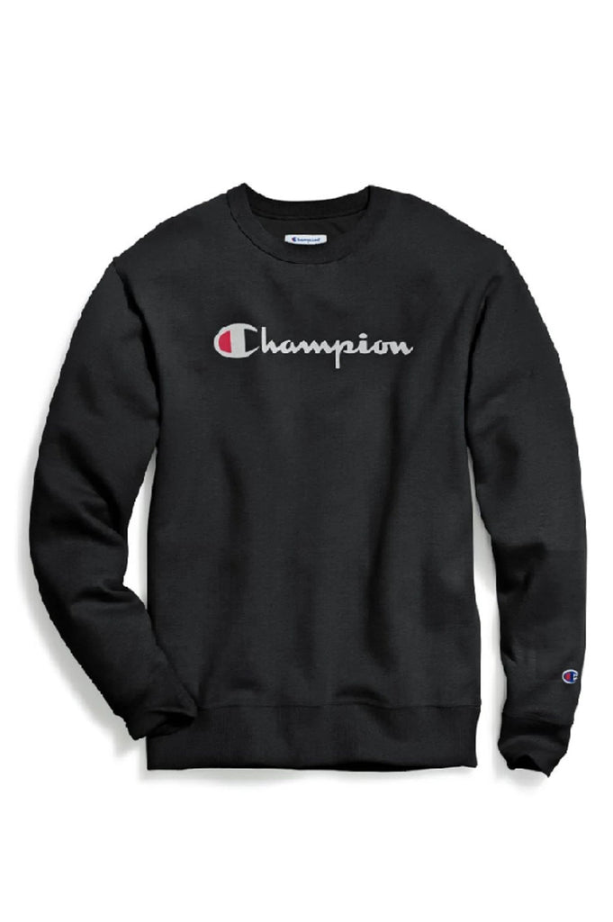 Champion Men Graphic Powerblend Crew