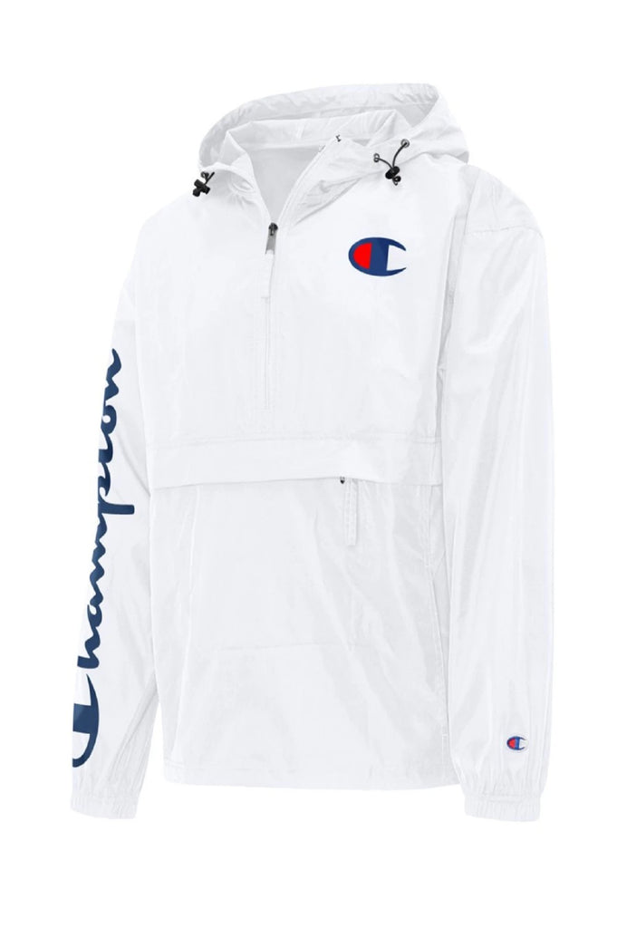 Champion Men Packable Jacket, C Logo