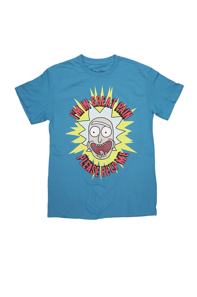 Aao Fashion Men Graphic Tee Rick and Morty Group