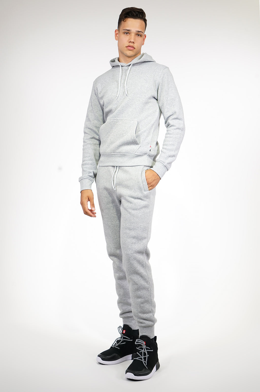 AAO FASHION MENS BASIC FLEECE JOGGER PANTS