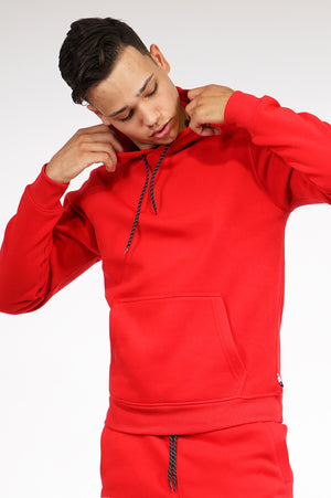 Aao Fashion Mens Basic Fleece Pullover