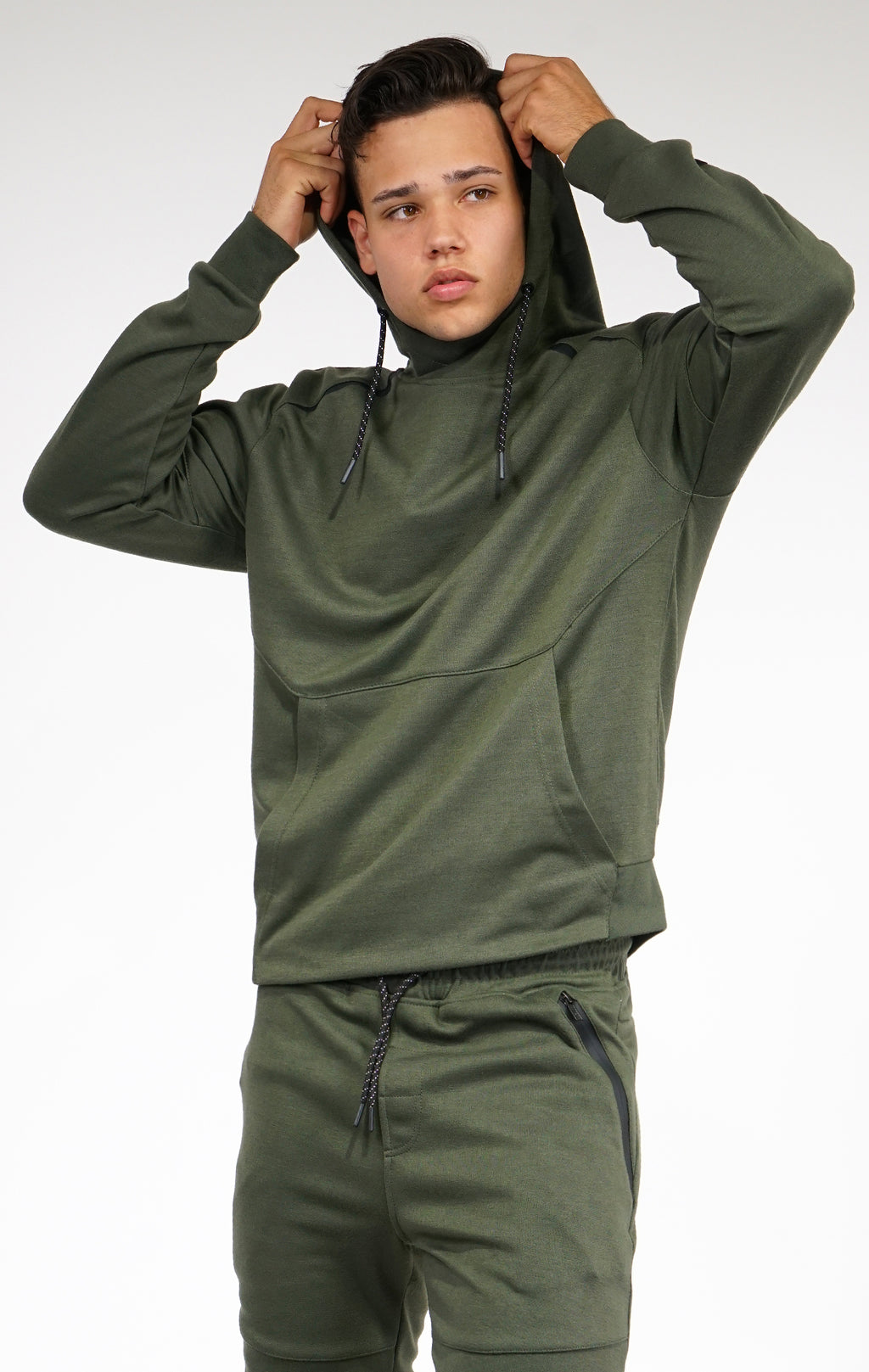 AAO FASHION MENS TECH FLEECE PULLOVER