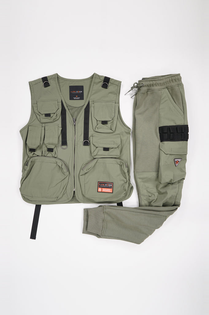Aao Fashion Men Utility Padding Vest