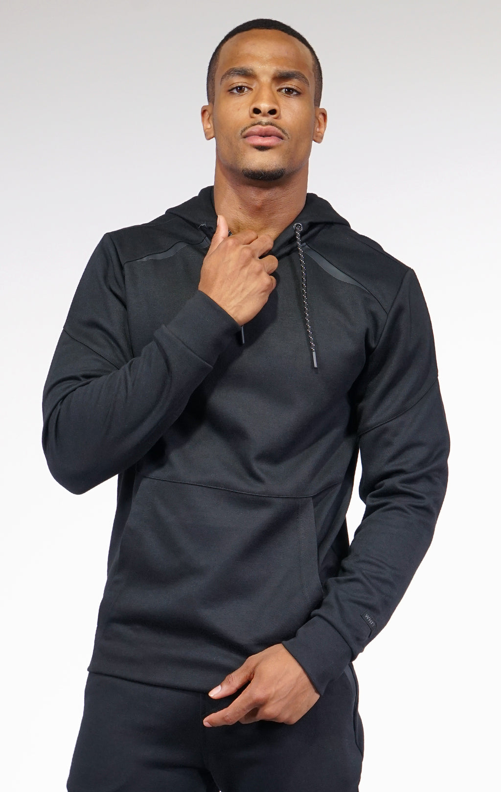 AAO FASHION MENS BASIC TECH FLEECE PULLOVER