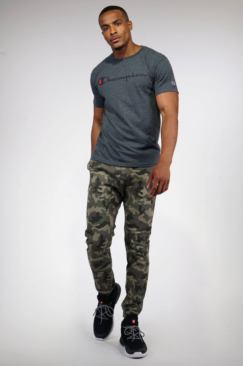 Aao Fashion Mens Basic Twill Jogger Pants