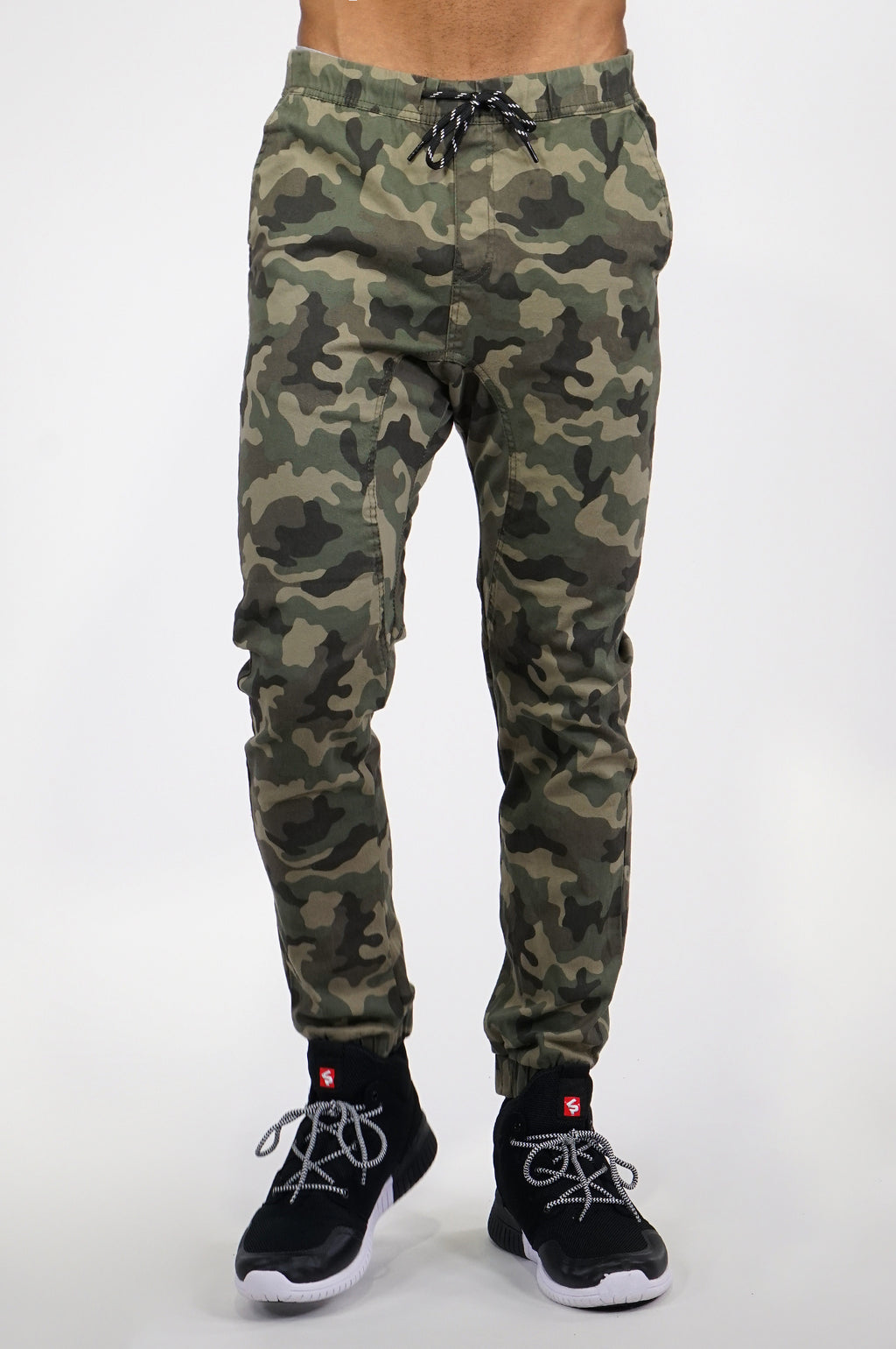 Aao Fashion Men Basic Twill Jogger Pants