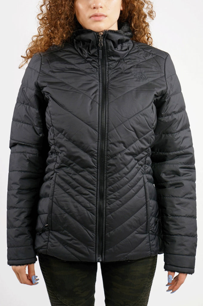 North Face Womens Mossbud Swirl Reversible Jk