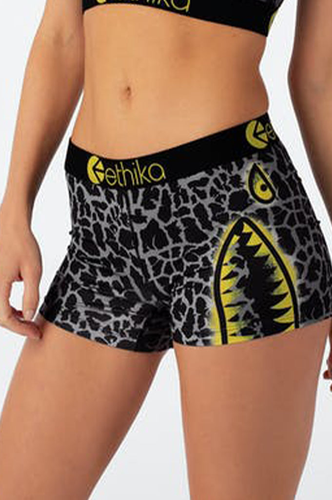 Ethika Women Bomber Giraffe - Womens Staple Short