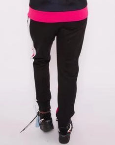 Black Pyramid Women Color Block Track Pants