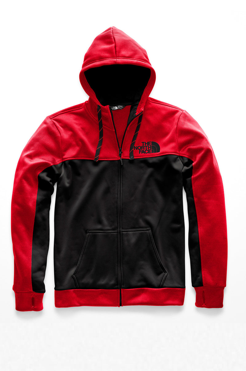 The North Face Mens Surgent Bloc Full Zip Zipup Hoodie