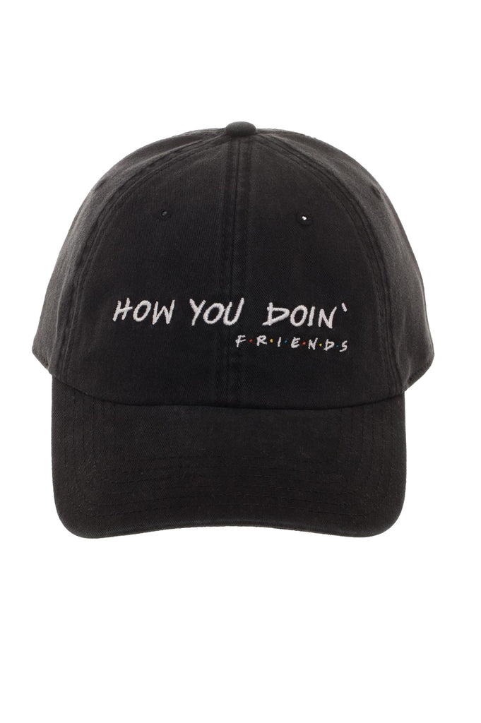 Aao Fashion Acc Dad Hat Friends How You Doin