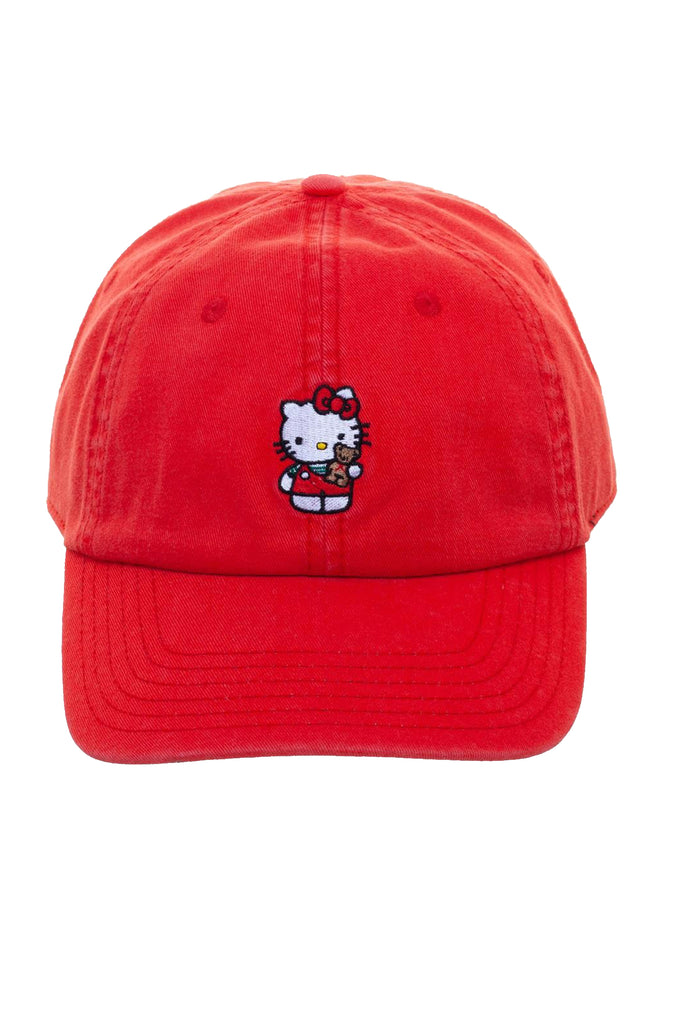 Aao Fashion Acc Dad Hat Hello Kitty
