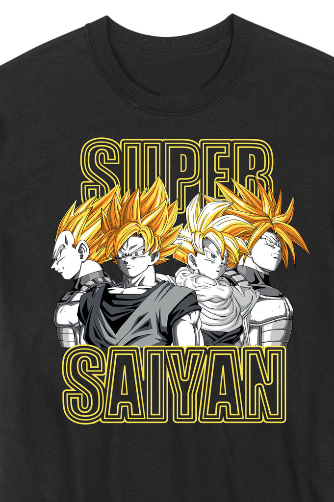 Aao Fashion Men Dragon Ball Z Graphic S/S Tee