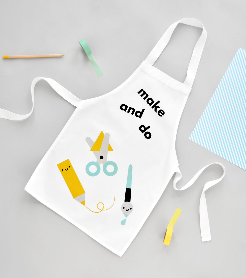 make and do apron buddy and bear toddler